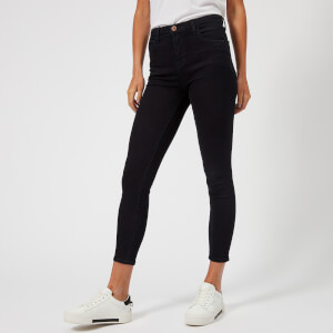 J Brand Women's Alana High Rise Cropped Skinny Jeans - Bluebird