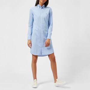 Polo Ralph Lauren Women's Oxford Shirt Dress - Blue