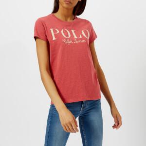 Polo Ralph Lauren Women's Polo Logo T-Shirt - Sun Red