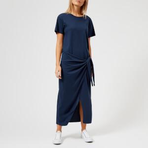 Polo Ralph Lauren Women's T-Shirt Dress with Tie Front - Navy