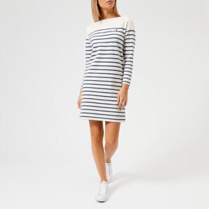 Polo Ralph Lauren Women's Gabriela Stripe Dress - Cream/Blue