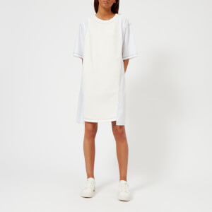 MM6 Maison Margiela Women's French Terry Sweat Dress - Off White