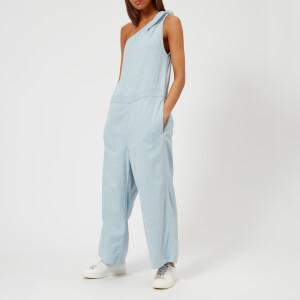 MM6 Maison Margiela Women's Bleached Jumpsuit - Powder Blue