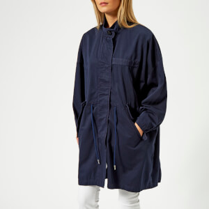 MM6 Maison Margiela Women's Garment Dyed Jacket - Indigo