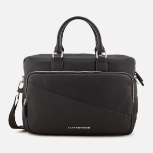 Tommy Hilfiger Men's TH Diagonal Computer Bag - Black