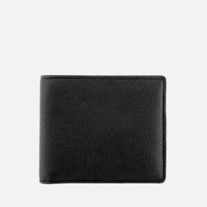 Maison Margiela Men's Classic Bifold Calf Leather Wallet - Black