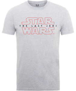 Star Wars Die letzten Jedi (The Last Jedi) Men's Grau T-Shirt