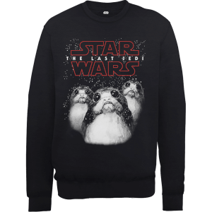 Star Wars The Last Jedi Porgs Black Sweatshirt