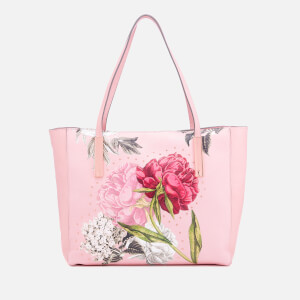 Ted Baker Women's Peonina Palace Gardens Large Tote Bag - Dusky Pink
