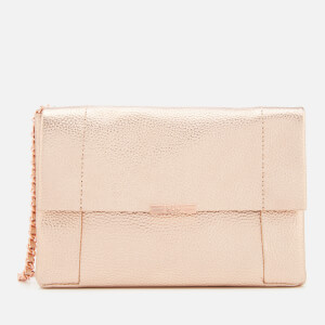 Ted Baker Women's Parson Unlined Soft Leather Cross Body Bag - Rose Gold