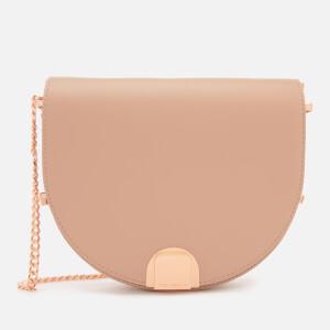 Ted Baker Women's Izzyy Flip Clasp Moon Bag - Mink