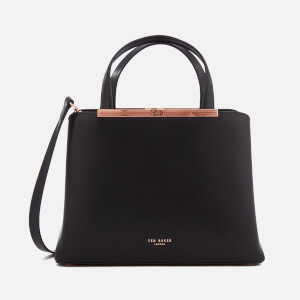 Ted Baker Women's Naomii Smooth Leather Tote Bag - Black