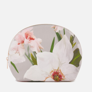 Ted Baker Women's Chatsworth Bloom Dome Wash Bag - Mid Grey