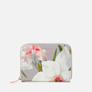 Ted Baker Women's Chatsworth Bloom Small Zip Purse - Mid Grey