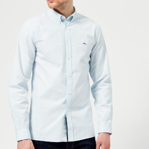 Lacoste Men's Long Sleeved Casual Shirt - Ruisseau