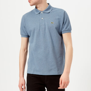 Lacoste Men's Classic Marl Polo Shirt - Neptune Chine