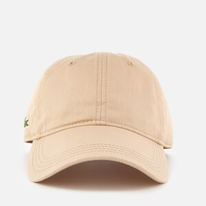 Lacoste Men's Side Logo Cap - Krema