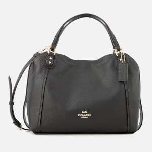 Coach Women's Edie 28 Shoulder Bag - Black