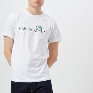Maison Kitsuné Men's Lovebirds T-Shirt - White