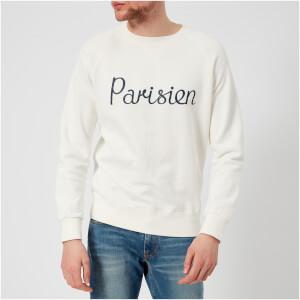 Maison Kitsuné Men's Parisien Sweatshirt - Latte