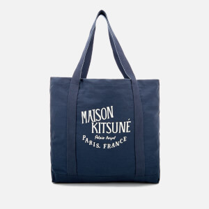Maison Kitsuné Men's Palais Royal Shopping Bag - Blue
