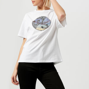 PS by Paul Smith Women's PS Sequin T-Shirt - White