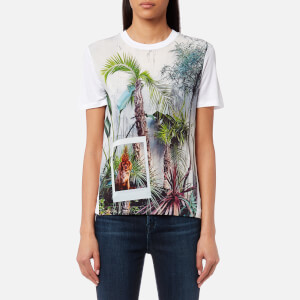 PS by Paul Smith Women's Jungle T-Shirt - White