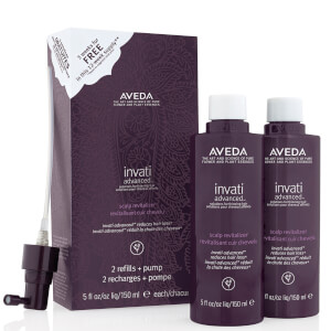 Aveda Invati Advanced Scalp Revitalizer -hiuspohjanhoitoainesetti 2 x 150ml