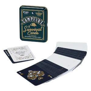 Gentlemen's Hardware Campfire Survival Cards