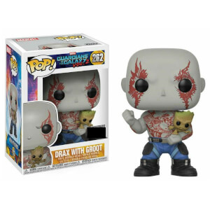 Marvel Guardians of the Galaxy 2 Drax with Groot EXC Pop! Vinyl Figure