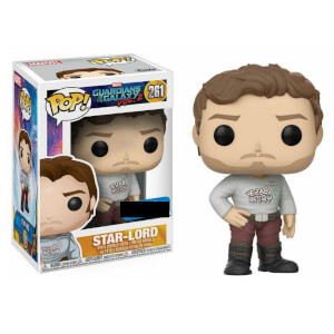 Figura Pop! Vinyl Exclusiva Star-Lord - Marvel Guardianes de la Galaxia Vol. 2
