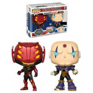 Lot de 2 Figurines Pop! EXC Ultron vs Sigma - Capcom vs Marvel