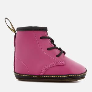 Dr. Martens Babies' Auburn Lamper Leather Boots - Hot Pink