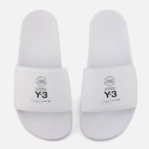 Y-3 Adilette Slides - White