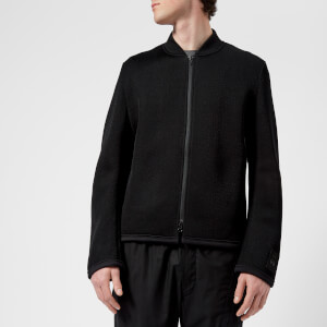 Y-3 Men's Mesh 3 Stripe Jacket - Black