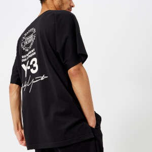 Y-3 Men's Short Sleeve Street T-Shirt - Black