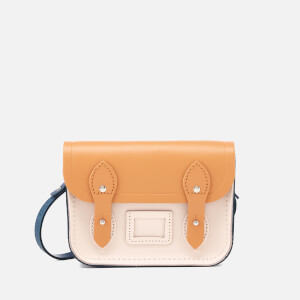 The Cambridge Satchel Company Women's Tiny Satchel - Peacock/Sand/Chalk