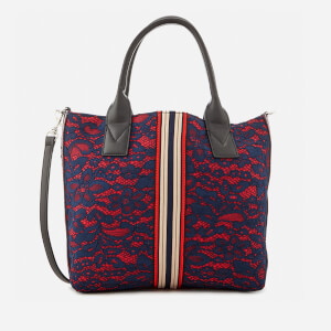 Pinko Women's Boccanera Shopping Tote Bag - Rosa/Blue