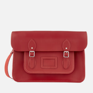 The Cambridge Satchel Company Women's 15 Inch Classic Satchel - Red