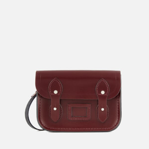 The Cambridge Satchel Company Women's Tiny Satchel - Patent Oxblood