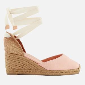 Castañer Women's Carina Wedged Sandals - Rosa Palo