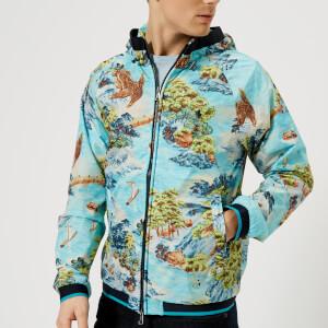Polo Ralph Lauren Men's Lined Windbreaker Jacket - Landscape Hawaiian