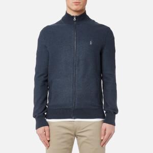Polo Ralph Lauren Men's Full Zip Sweatshirt - Winter Navy Heather