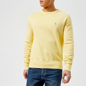 Polo Ralph Lauren Men's Crew Neck Loopback Sweatshirt - Banana Peel