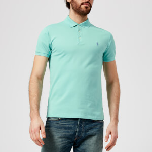 Polo Ralph Lauren Men's Stretch Mesh Polo Shirt - Bayside Green