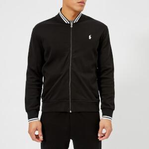 Polo Ralph Lauren Men's Bomber Collar Zip Sweatshirt - Polo Black