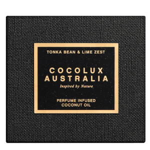 Cocolux Australia Tonka Bean and Lime Zest Luna Brass Candle 225g