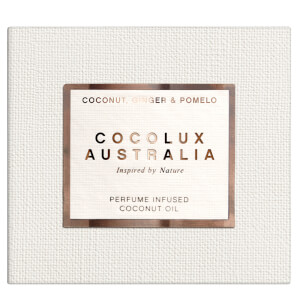 Cocolux Australia Coconut, Ginger and Pomelo Sol Copper Candle 225g