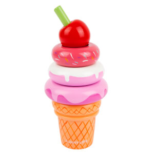 Sunnylife Ice Cream Stacking Toy