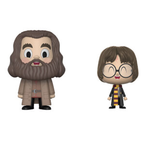 Hagrid and Harry Potter Funko Vynl.